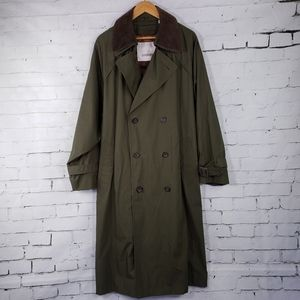 Trench Coat Classic Military Style London 42S